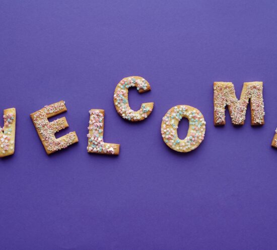 Picture of the word welcome